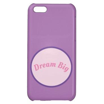 iPhone 5 case - Dream Big
