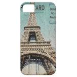 iphone 5 case Eiffel Tower Postcard from Paris