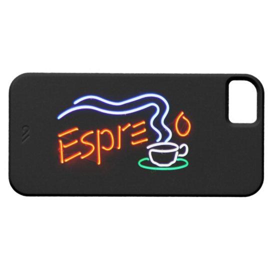 iPhone 5 Case - Espresso Neon