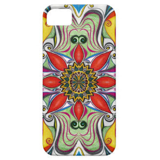 iphone 5 case Fabric Flowers