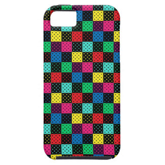 iPhone 5 Case Fabric Polka Dots