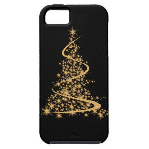 Iphone 5s gold and black case