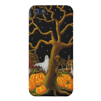 iphone 5 case,Halloween,graveyard,tombstones,ghost Case For iPhone SE/5/5s