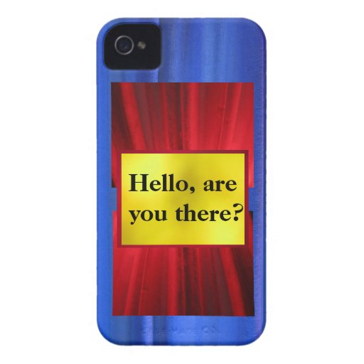 "iPhone 5 Case - ""Hello, are you there?"""