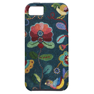 IPhone 5 case Hooked Rug Design