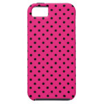 iPhone 5 Case Hot Pink Polka Dot