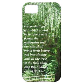 iPhone 5 Case--Isaiah 55:12 iPhone SE/5/5s Case