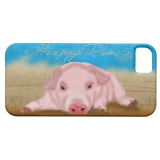 iPhone 5 case -  it's a piggin iPhone 5