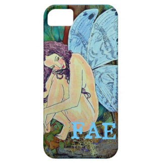 """iPhone 5 Case """"Little Blue Wing Fae"""""""