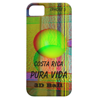 iPhone 5 Case-Mate 3D Costa Rica Pura Vida