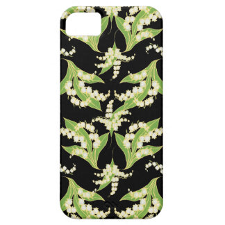 iPhone 5 Case-Mate case Lilies of the Valley Black