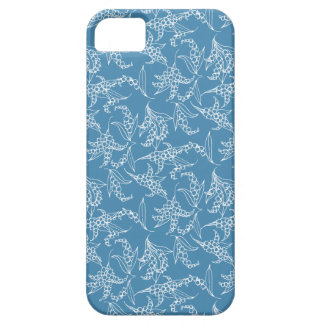 iPhone 5 Case-Mate Case Lilies-of-the-Valley Blue