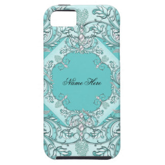 iPhone 5  Case-Mate Case Pretty Teal Blue