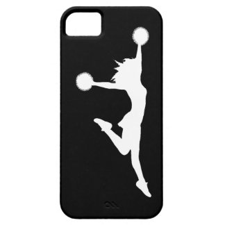 iPhone 5 Case-Mate Cheer 1 Silhouette White/Black iPhone SE/5/5s Case
