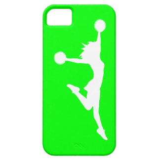 iPhone 5 Case-Mate Cheer 1 Silhouette White/Green iPhone SE/5/5s Case
