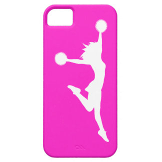 iPhone 5 Case-Mate Cheer 1 Silhouette White/Pink