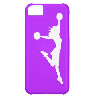iPhone 5 Case-Mate Cheer 1 Silhouette White/Purple iPhone 5C Case
