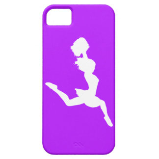 iPhone 5 Case-Mate Cheer Silhouette White/Purple