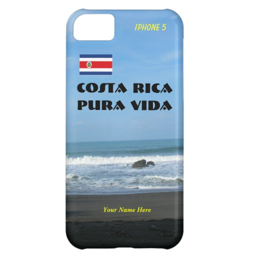 Case Design pura vida phone case : iPhone 5 Case-Mate Costa Rica Pura Vida Case For iPhone 5C