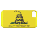 iphone 5 Case-Mate w/ Gadsden Flag- Dont Tread On iPhone 5 Cases