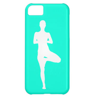 iPhone 5 Case-Mate Yoga 1 Silhouette Turquoise