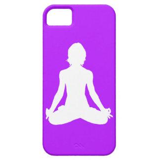 iPhone 5 Case-Mate Yoga Silhouette Purple