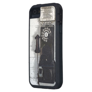 """IPHONE 5 CASE / """"OLD PAY PHONE"""" /PHOTOG."""