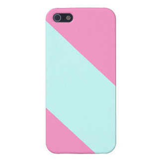 iPhone 5 Case Pastel Candy Cane