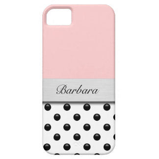 iPhone 5 Case Pink Monogram iPhone 5 Covers
