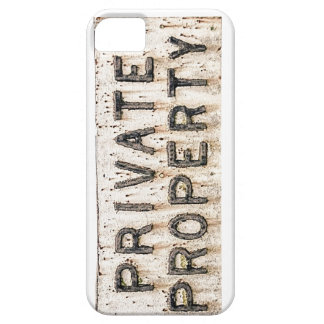 iPhone 5 case Private Property