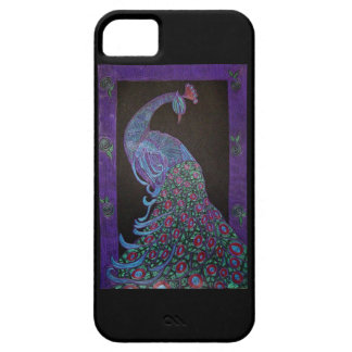 iPhone 5 Case - Proud Peacock