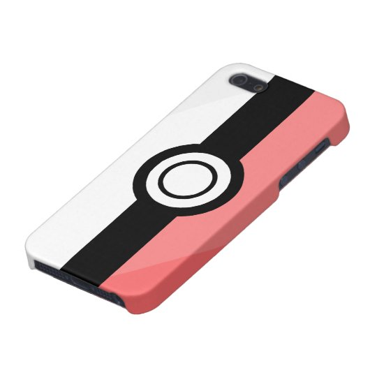 iPhone 5 Case - Red and White
