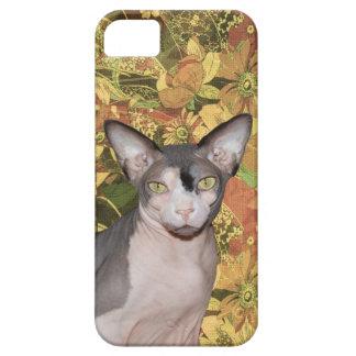 iPhone 5 Case | Sphynx Cat Ninja floral