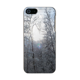 iPhone 5 case: Sunlight in the snow Metallic Phone Case For iPhone SE/5/5s