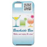 iPhone 5 Case Template Beachside Bar