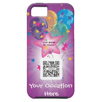 iPhone 5 Case Template Celebrate