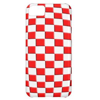 iPhone 5 case Template Croatia Hrvatska sahovnica