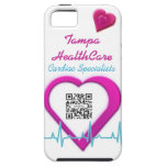 iPhone 5 Case Template Heart Health