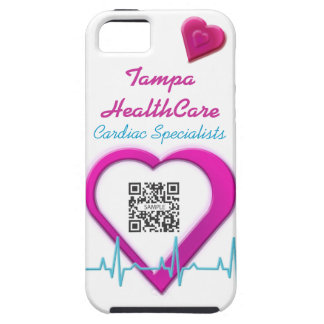 iPhone 5 Case Template Heart Health