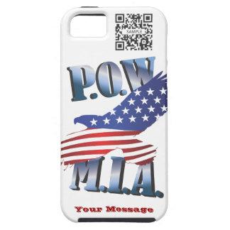 iPhone 5 Case Template POW MIA
