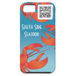 iPhone 5 Case Template Seafood Restaurant