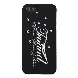 Iphone 5 case TRUAND O.S.W Black Mate