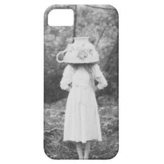 Iphone 5 case Victorian Teacup Girl