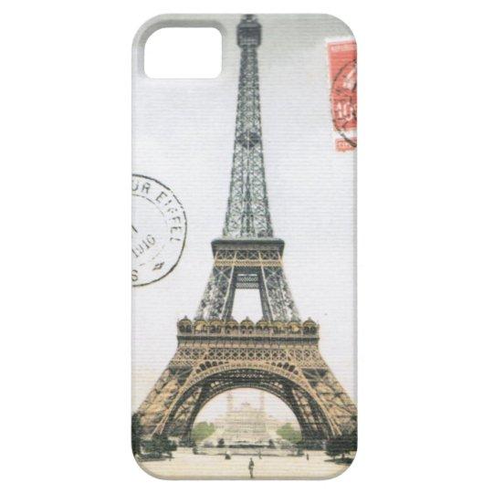 iPhone 5 case- Vintage Eiffel Tower iPhone SE/5/5s Case