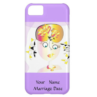 "iphone 5 case ""Wedding"""