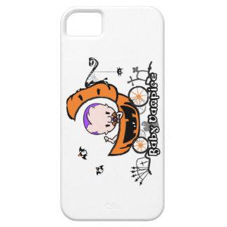 iphone 5 case with Baby Vampire + Pumpkin Stroller