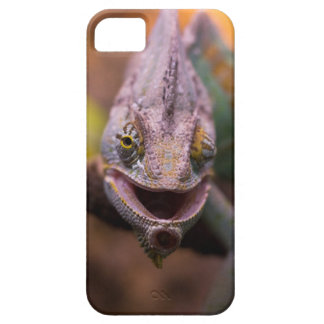iPhone 5 case with chameleon face