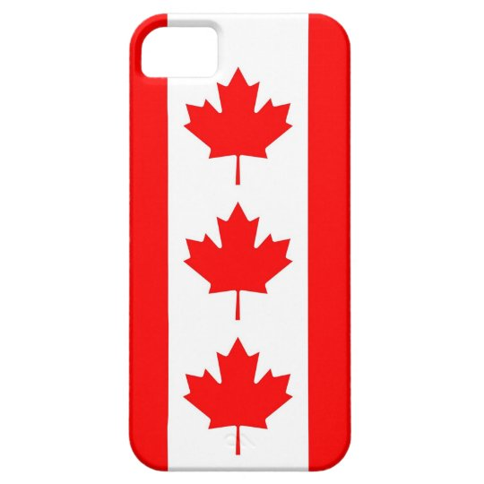 IPhone 5 Case with Flag of Canada