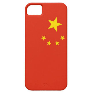 IPhone 5 Case with Flag of China