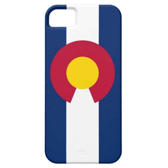 IPhone 5 Case with Flag of Colorado
